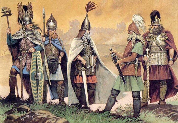 Кельтский период в Шотландии